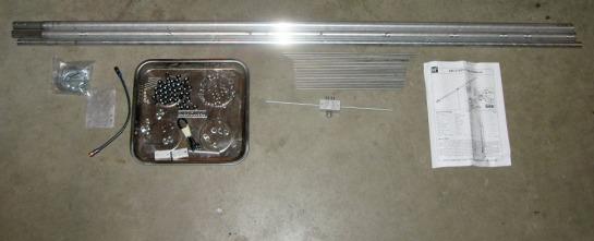 70 cm Yagi Parts