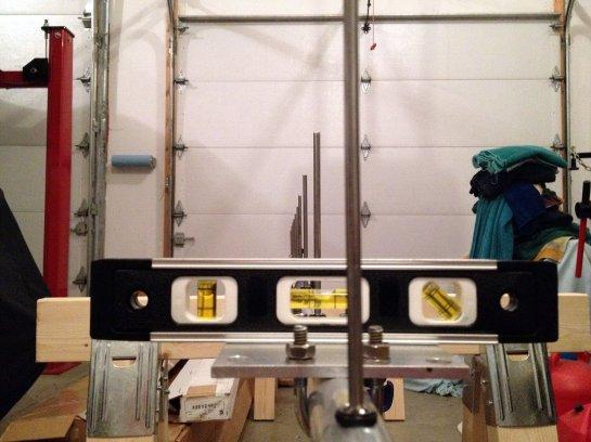 70 cm Yagi Mast Clamp Installation