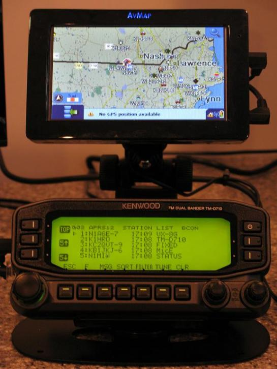 APRS Station List Display