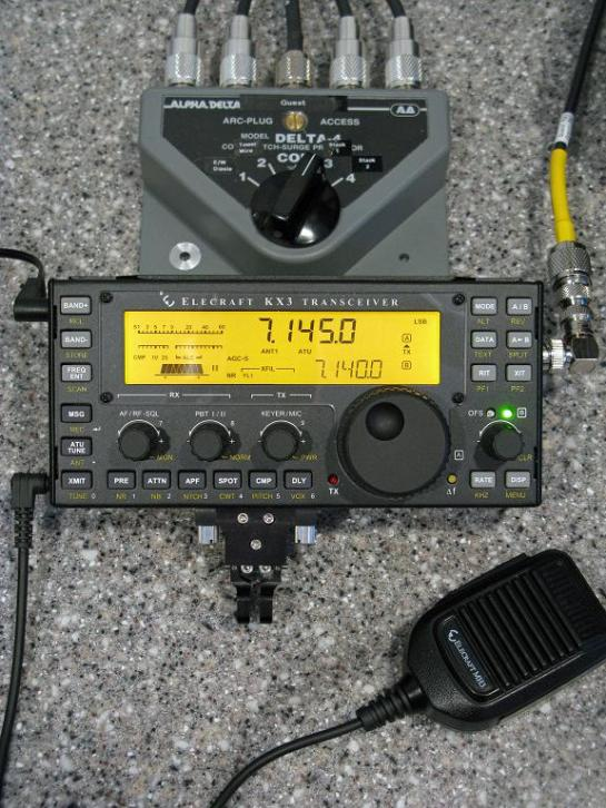 KX3 Using Guest Position