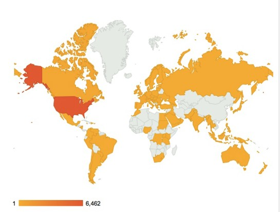 Our Blog Readers Around The World