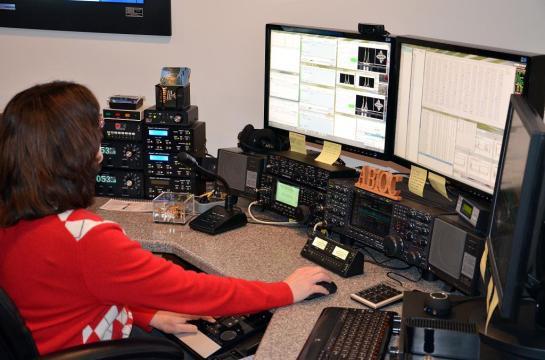 AB1QB operam no Concurso de RTTY BARTG