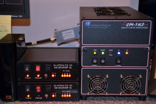 2m Amplifier And Sequencers
