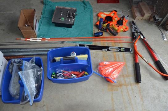 8-Circle Receive Array Construction Tools