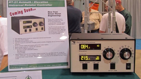 Green Heron AZ-EL Rotar Controller