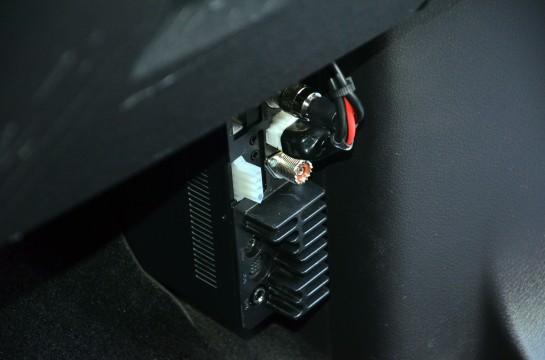 Icom IC-7000 Radio Mounting