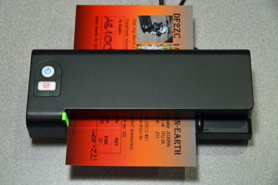 QSL Card Scanner