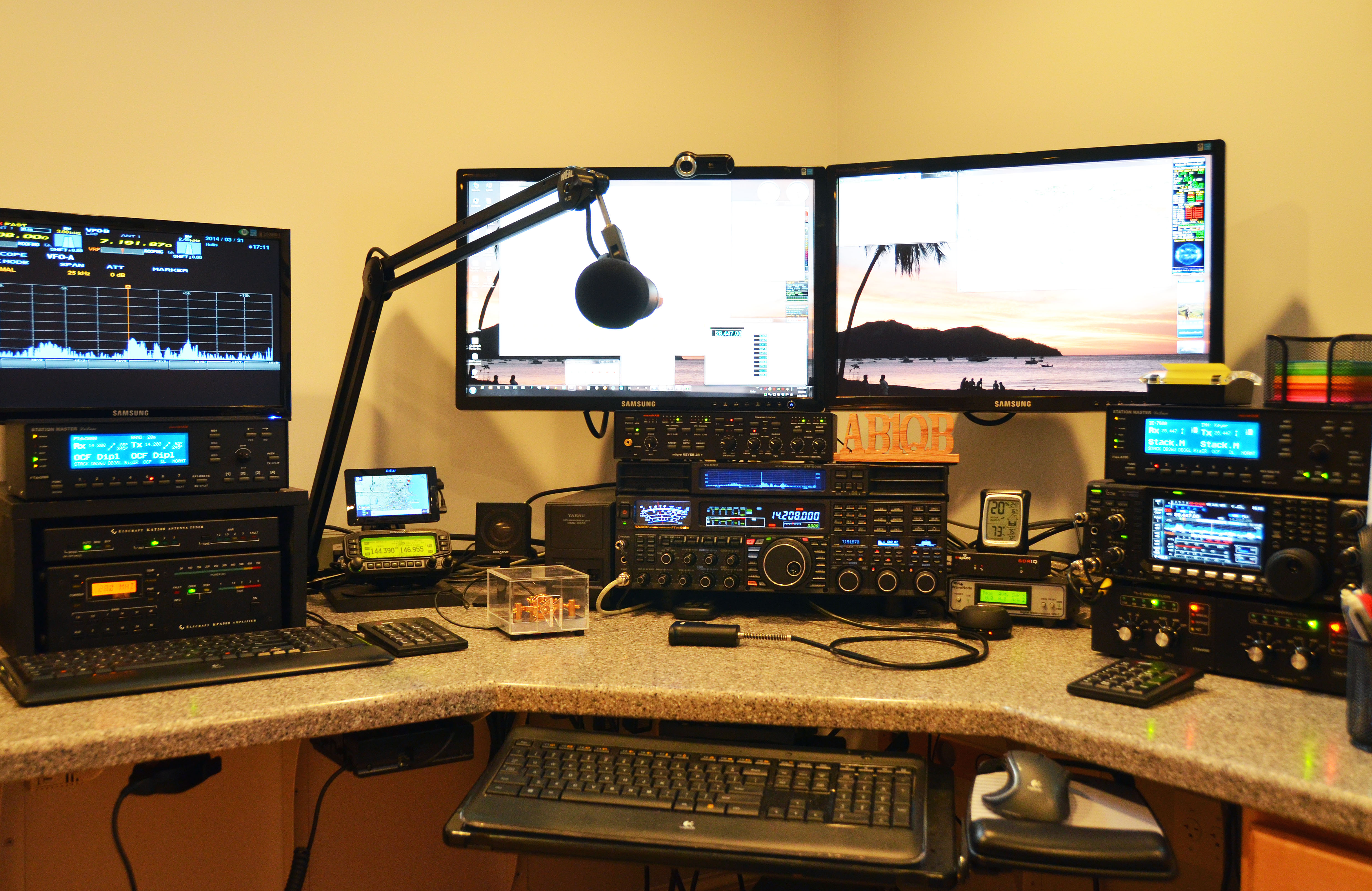 Amateur Radio Station Wb4omm: Antenna Cutover And Final
