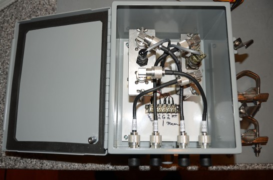 Completed Tower Preamp System
