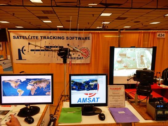 AMSAT Display At Dayton 2014
