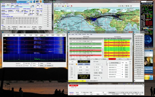 JT65 QSO On 6m