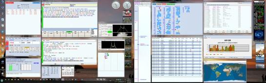 N1MM+ Setup On Dual Monitors