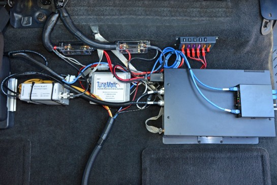 Power Distribution, Antenna Controller And Wattmeter Sensors