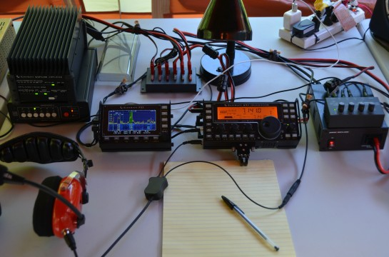 Elecraft KX3 Field Day Station