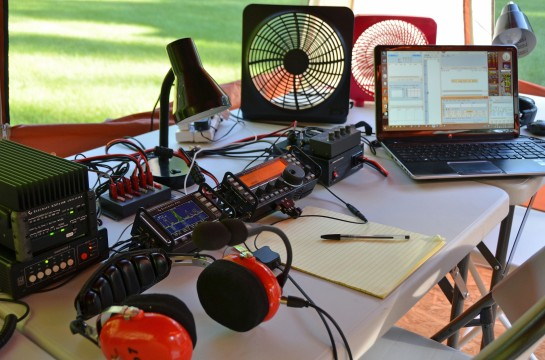 Field Day 20m SSB Station