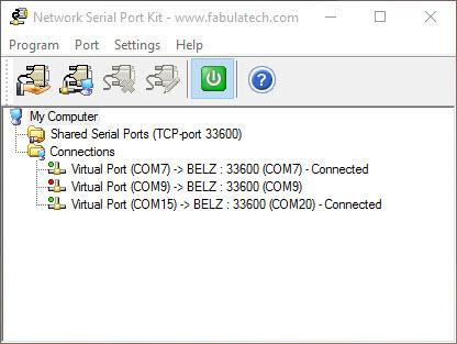 Network Serial Port Kit
