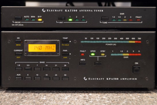 Elecraft KPA500 Amplifier and KAT500 Auto Tuner