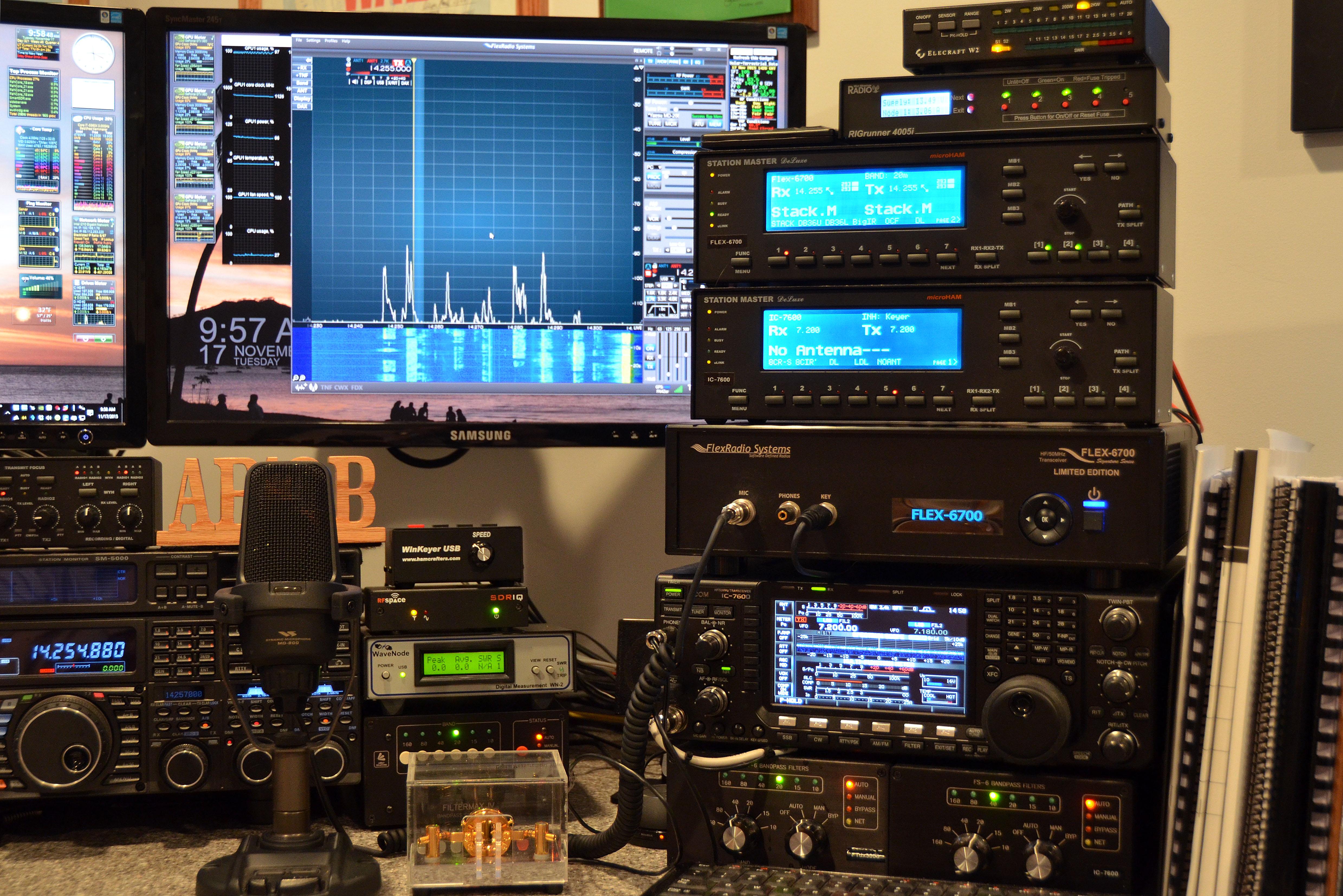 Amateur Radio Station Wb4omm: Shack Design And Construction
