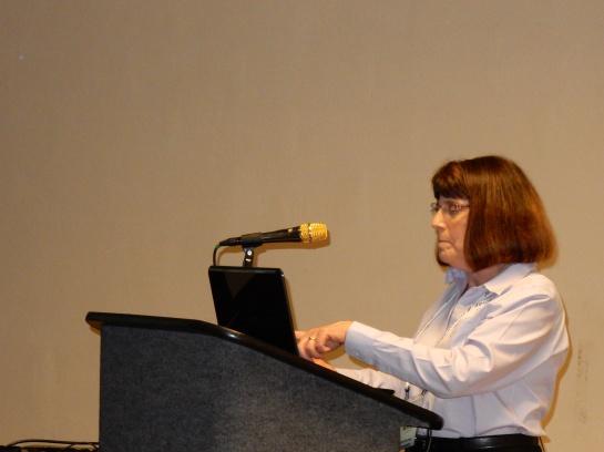 Anita Preseting in Contest Forum