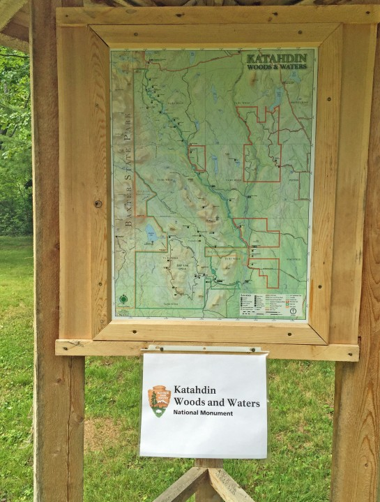 Katahdin Woods Sign 1