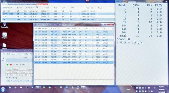 Scoreboard Computer