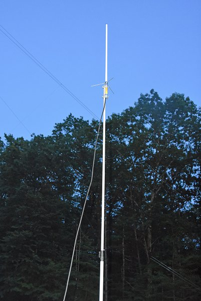 Diamond X-30 Antenna and Mast