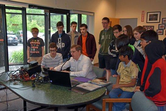 Explaining Amateur Radio to ASD Students